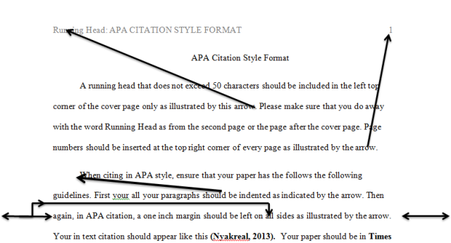 Apa citing in paper